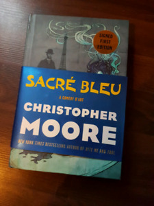 Signed first edition Christopher Moore
