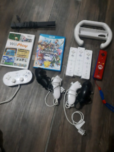 Wii and wii u controlers/games