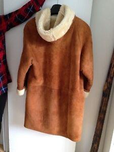 Manteau en peau d'agneau