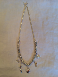 LINKS OF LONDON SWEETIE CHAIN NECKLACE & CHARMS