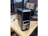 Pc tower, AMD x2, 2.5GB,160GB, nvidia GeForce Windows 7