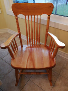 Canadian made rocking chair