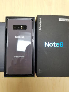 Like New Unlocked Samsung Galaxy Note 8 for $750 w/ WARRANTY