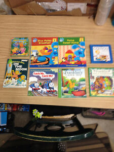10 Treehouse Books.Blue's Clues, Franklin, Calliou + More