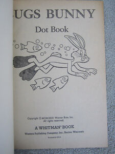 1973 Bugs Bunny Dot Book by Whitman Kitchener / Waterloo Kitchener Area image 3