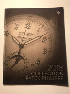 Patek Philippe Geneve PP 2018 watch collection catalog book