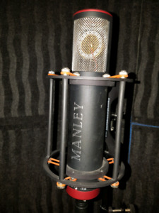 Microphone condensateur Manley reference C