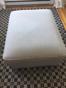 Beautiful footstool with storage