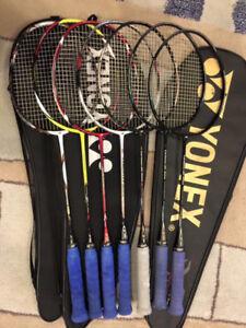 Yonex badminton racquet.