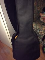 Mint condition acoustic guitar/case