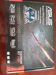 ASUS Radeon R7 240 2GB video graphics card