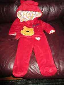 Soft Plush & Cosy Two Piece Outfit - Winnie the Pooh
