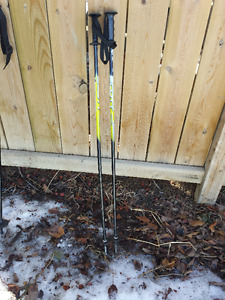 Two Pairs of Kids Ski Poles - 38 Inches