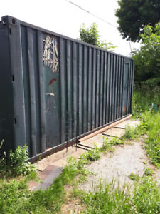 STORAGE CONTAINER STEEL 8FT HX8FTWDX20FT LENGTH