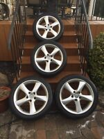Mags 17 pouces mazda 5x114