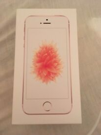 iPhone SE Rose Gold Good as New no crutches scratches