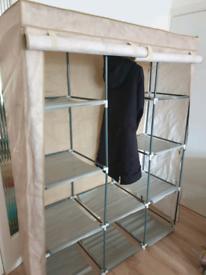 ♤ Assembly Metal Frame Wardrobe