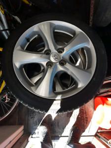 2007. Hyundai Accent Aloys 205-45-16 Falken All season tires