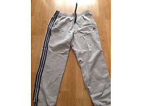 Mens Adidas tracksuit bottoms Size L