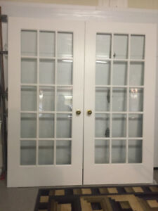 Beautiful French doors for Sale.