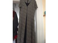 Navy colour Bhs dress size 16 like new