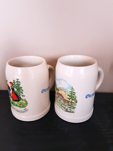 Vintage German Beer Steins