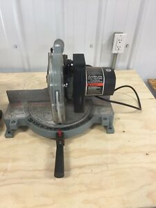 "10"" miter saw and other misc tools"