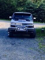 Chevy shorty lifted,