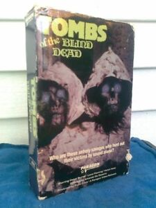 TOMBS OF THE BLIND DEAD - BIG BOX VHS.