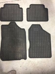 Set of Toyota Camry fitted rubber mats