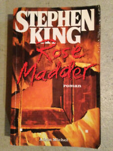 Rose Madder, Stephen King, roman, frisson, horreur, triller