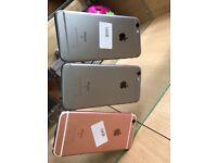 IPhone 6s 16gb unlocked like new with warranty Work any sim