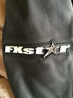 Men's FXstar leather and textile motorcycle jacket