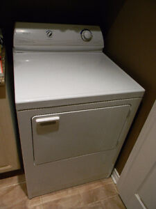Sécheuse Maytag blanche / White washer