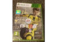 FIFA 17 Xbox 360 brand new and sealed