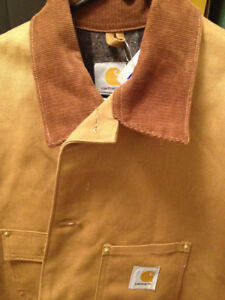Carhartt coat. Blanked lined. Made in USA. New. Sizes 44,46 Tall