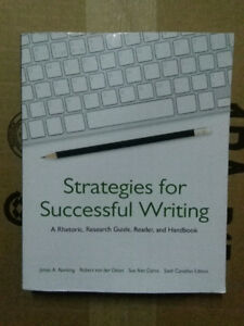 !!! STRATEGIES FOR SUCCESSFUL WRITING - USED !!!