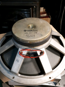 """15"""" Yamaha speaker 120 watts, ja 38020, 15 inch speaker"""