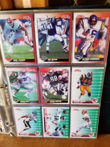 1991 Score NFL Card collection