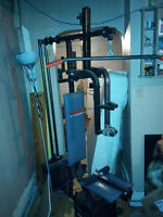 Home Gym for sale or possible trade Let me know what you have