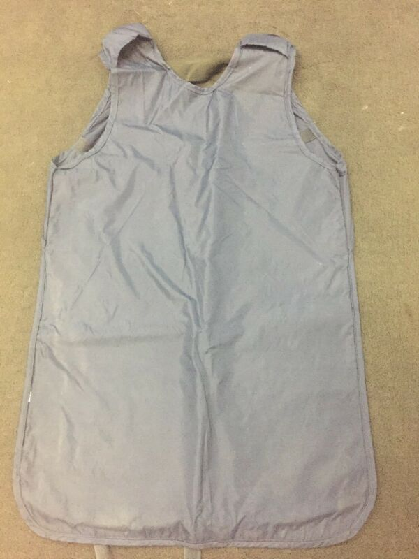 """X-ray Protective Apron Dark Blue Front Protection Tie Back 24x32"""""""