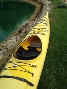 Sea or lake kayak yellow  16.6feet 650obo