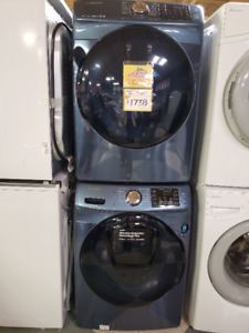 Samsung 5.2 Cu. Ft. Front-Load Washer and 7.5 Cu. Ft. Dryer