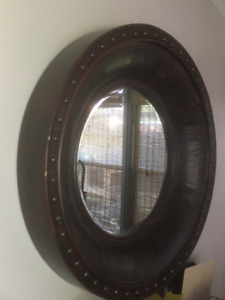 Large Scale Round Mirror