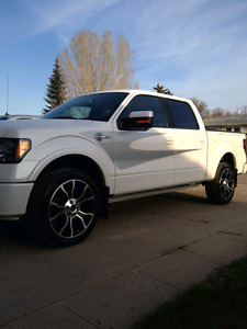 "2012 Ford SuperCrew "" Harley Davidson "" F-150"