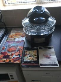 Halogen oven cook books and instructions