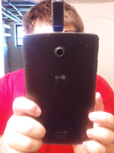 LG G PAD 2 LTE 8 INCH TABLET LOCKED TO FIDO 16GB