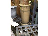 Lovely Victorian heavy chimney pot