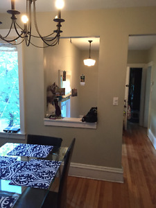 Heritage Upper Flat, Two bedroom + office/den (3rd br) - Sept. 1