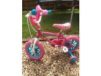 Hello Kitty bike 3-5 years